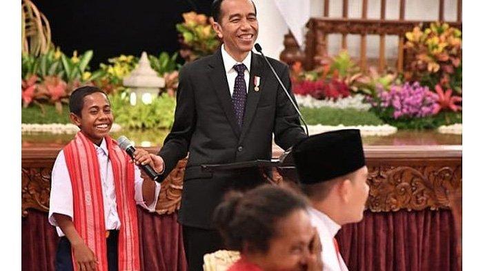 Presiden Jokowi Terima Joni Ande Kala: Hari Ini Saya Kedatangan Tamu, Seorang Pemberani