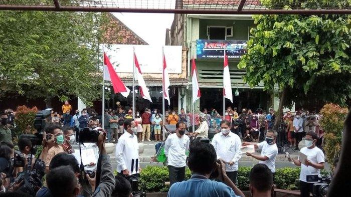 300 Pedagang di Malioboro Dapat Bantuan dari Presiden Jokowi