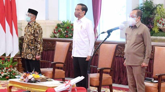 Presiden Jokowi Terima Lemhannas RI, Tegaskan Kembali Soal Green Economy
