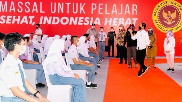 Jokowi Persilakan Para Kepala Sekolah Lakukan Pembelajaran Tatap Muka dengan Syarat