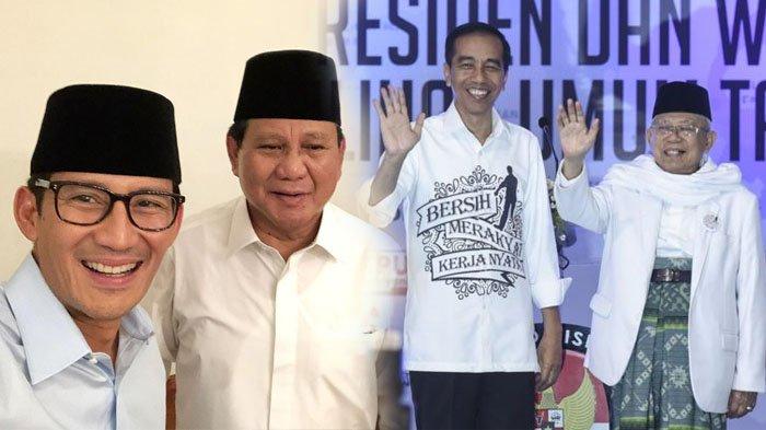 Harta Kekayaan Jokowi-Maruf Amin Rp 6 Miliar, Prabowo-Sandiaga Uno Rp 6 Triliun