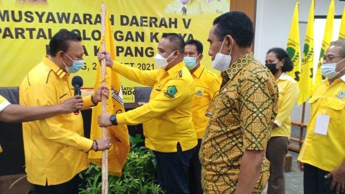 Bebas dari Vonis Hakim, Jonas Salean Terpilih Jadi Ketua DPD II Golkar Kota Kupang