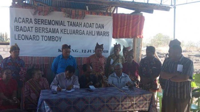 Penyelesaian Sengketa Tanah Terkatung 30 Tahun, Ahli Waris Tomboy Gelar Ritual Adat Panggil Leluhur