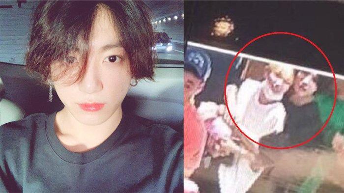 Viral Foto Jungkook BTS Peluk Seorang Wanita, Dia Pacaran? Big Hit Entertainment Angkat Bicara