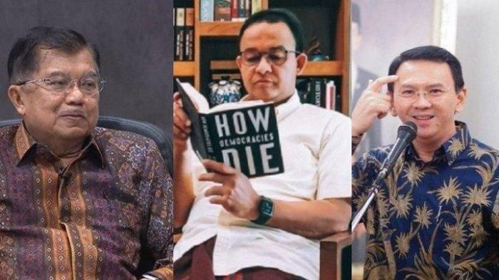 TERKUAK, Jusuf Kalla Mengaku Dukung Anies Baswedan di Pilkada DKI, Ada Bahayanya Kalau Ahok Menang