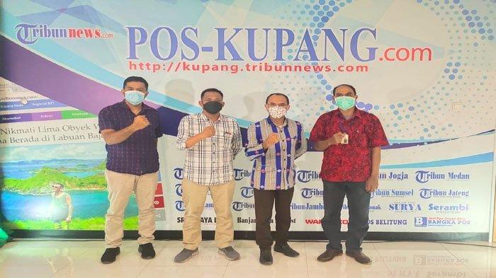 Kabag Protokol dan Komunikasi Pimpinan Setda TTU Beraudensi ke Dapur Pos Kupang