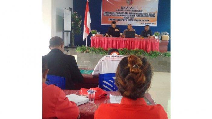 Kabupaten TTS Masih Rawan, Bawaslu  Ajak Semua Komponen Awasi Pemilu 2019