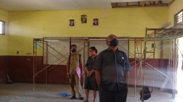 Kadis dikbud Kota Kupang, Dumuliahi Djami di SMP Negeri 5 Kota Kupang