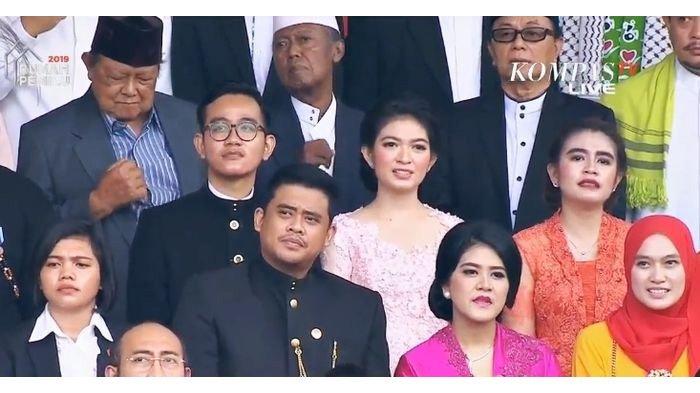 Anggunnya Kahiyang Ayu pada Upacara HUT Ke-73 Kemerdekaan RI di Istana Negara Jakarta