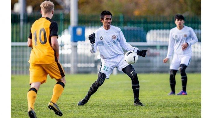 Kakang Rudianto pemain debutan dari Garuda Select yang bergabung ke Timnas U-19
