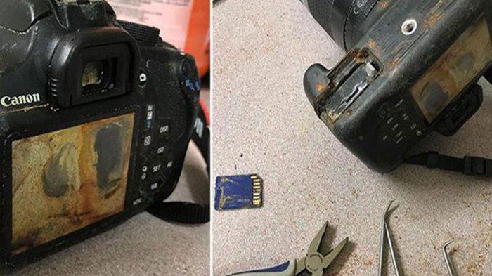 Perempuan Ini Temukan Kamera, Setelah Dibuka Foto di Kamera Itu Sungguh Mengejutkan