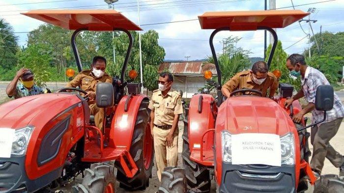 Kementan Berikan Bantuan Alsintan Bagi Poktan di Kabupaten Manggarai Barat