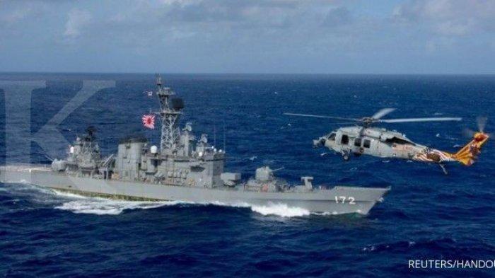 Bikin Panas China , Amerika , Jepang, dan Prancis Serta Australia Gelar Latihan Militer Gabungan