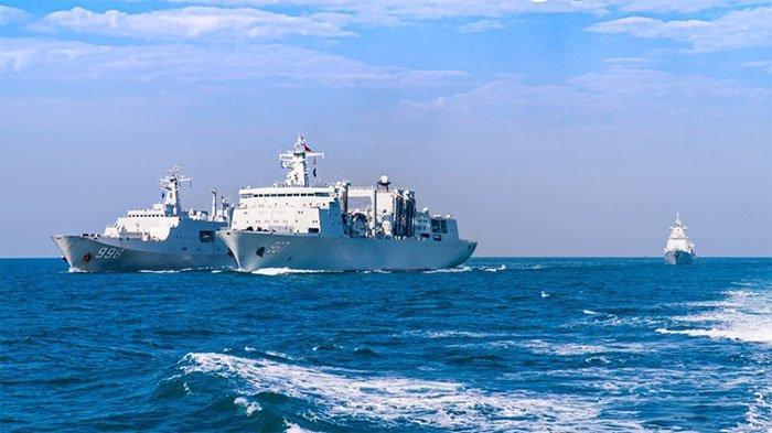 Australia Ketar Ketir, Dua Kapal Perang China Dekati Perairan Negeri Kanguru Saat Latihan Perang