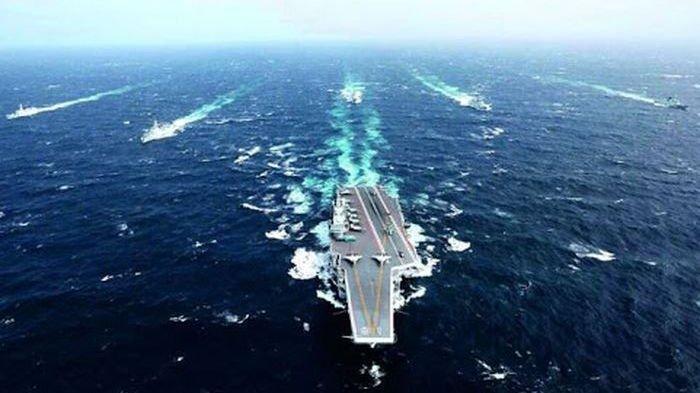 Militer Amerika Dipaksa Keluar , Kapal Induk Terbesar China Masuk Laut China Selatan ,AS Ketar Ketir