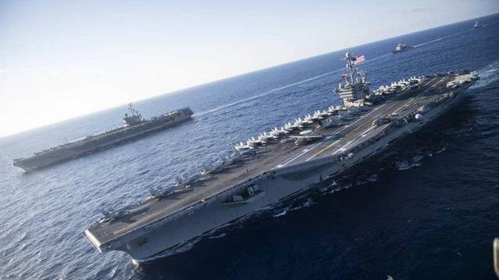 Tak Berdaya Hadapi China di LCS, Filipina Akan Minta Bantan AS Jika AL-Nya Diserang  China