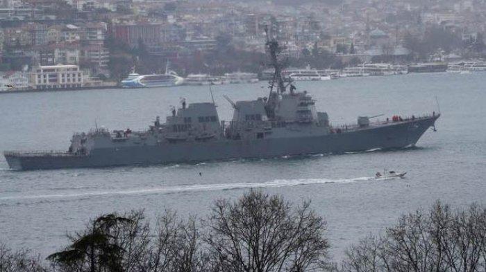 MEMANAS, Rusia Mulai Keras Usir Kapal Perang Amerika Serikat Menjauh dari Krimea, Atau Hancur