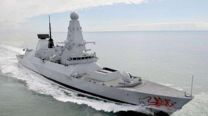 Bisa Picu Perang Dunia III, Inggris Kirim 2Kapal Perang ke Laut Hitam Siap Lawan Kapal Perang Rusia