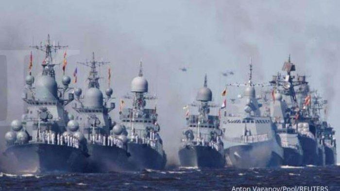 Kapal Perang Sudah Saling Berhadapan di Laut Hitam, Rusia: Amerika Serikat adalah Musuh Kami!