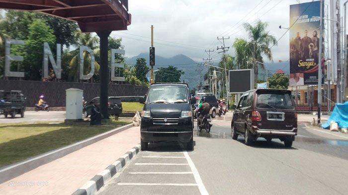 Kapan Traffic Light di Kota Ende Diperbaiki