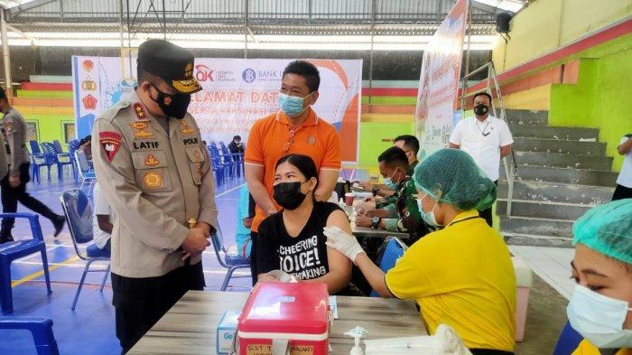 Dukung Penuh Proses Vaksinasi Covid19, Ketua DPDREINTT Bobby Pitoby Apresiasi Kapolda NTT