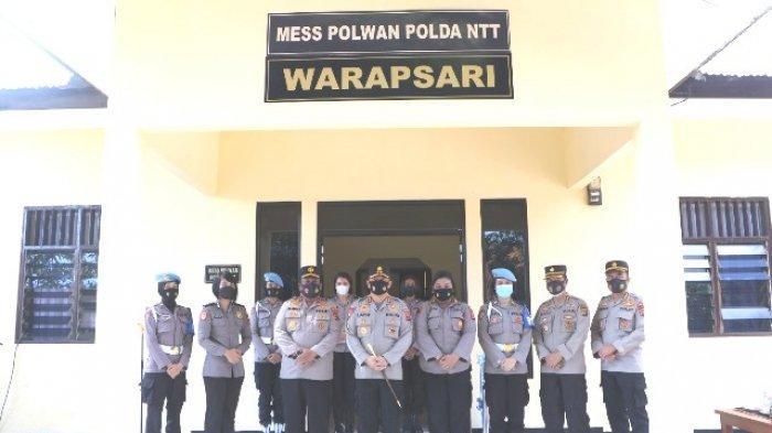 Kapolda NTT Irjen Pol. Drs. Lotharia Latif, S.H. M.Hum meresmikan Mess Polwan Warapsari Polda NTT, Kamis 10 Juni 2021.