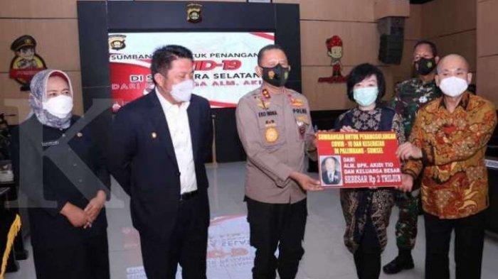 Geger, Keluarga Pengusaha Asal Langsa Sumbang Rp 2 Triliun untuk Penanganan Corona,Kapolda ini Kaget
