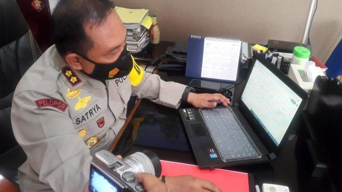 Polres Kupang Kota Gagas Laporan Data Covid-19 dari Kampung Tangguh