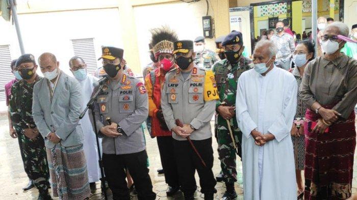 Kapolri Jenderal Listyo Sigit Prabowo : Ibadah dan Kerukunan di NTT Tidak Terganggu Aksi Terorisme