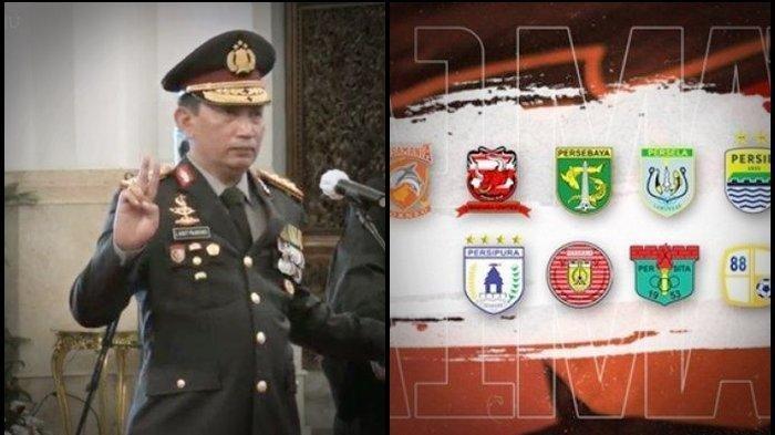 Kapolri Listyo Sigit tentukan nasib kompetisi Liga 1 dan Liga 2 Indonesia