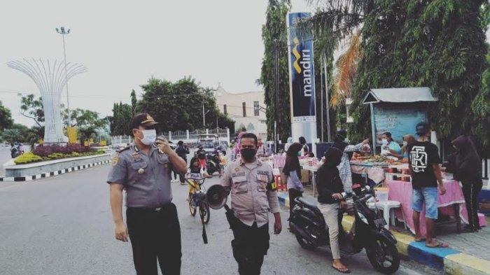 Himbau Pedagang Takjil di Jalan Urip Sumohardjo Tidak Lagi Jual di Trotoar