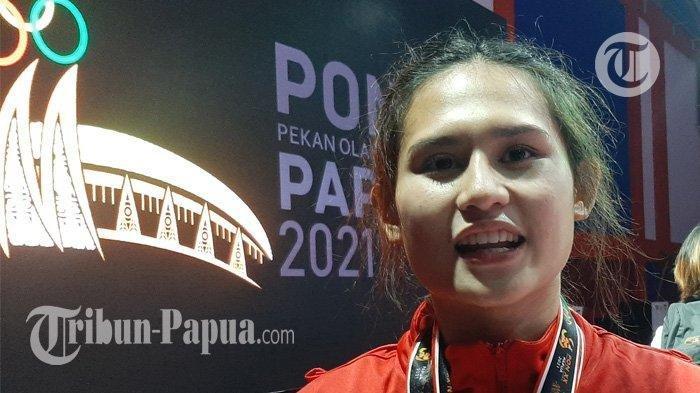 Baru Pertama Tampil di PON, XX Papua Karateka Cantik Asal DKI Jakarta Bangga Sumbangkan Dua Emas