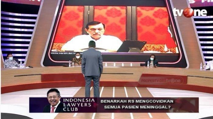 Luhut Pandjaitan Pernah Beri 10 Ribu Dolar AS ke Karni Ilyas Presiden ILC TV One Saat di Singapura