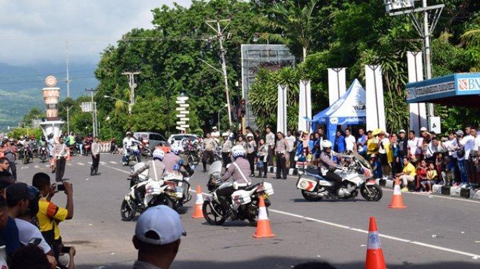 Kasat Lantas Polres Sikka Sebut Kecelakaan Lalulintas di Kota Maumere Turun