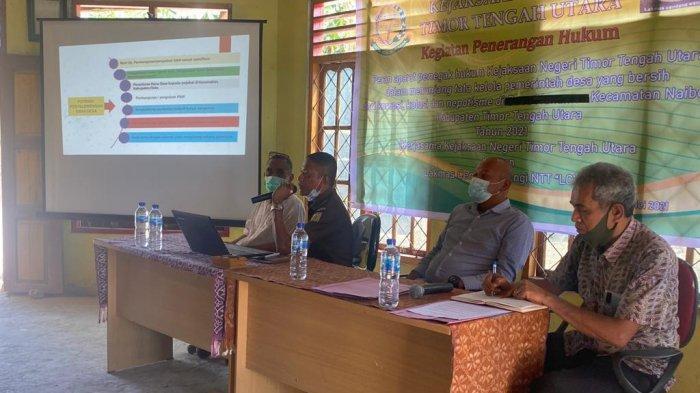 Kejari TTU Ajak Masyarakat dan Aparat Desa Cegah Penyalahgunaan Anggaran