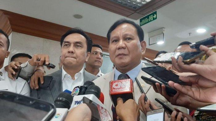 Kata Menhan Prabowo Tanggapi Kritik PKS karena Sering Kunjungan ke Luar Negeri
