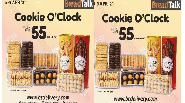 Katalog Promo BreadTalk Besok Kamis 8 April 2021, Aneka Cookie Mulai Rp 55 Ribuan!