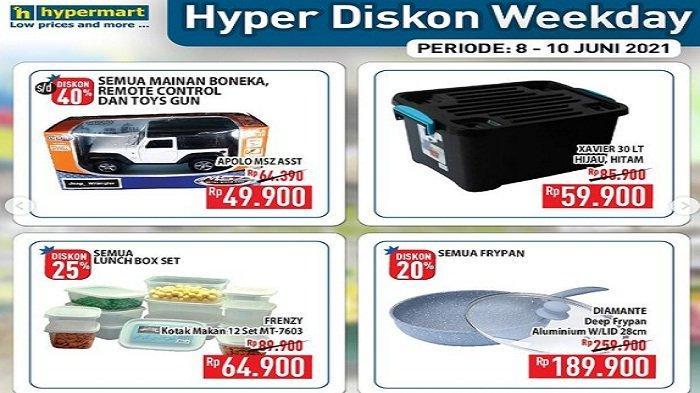Promo Hyper Diskon Weekday 8 juni 2021