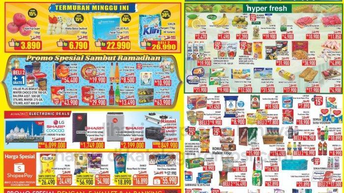 Katalog Promo Hypermart Hari ini Jumat 2 April 2021: Harga Spesial Buah-buahan, Diskon Aneka Biskuit