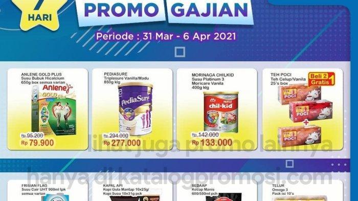 Katalog Promo Terbaru Indomaret Besok Senin 5 April 2021, Promo Gajian Telur Murah, Diskon Morinaga