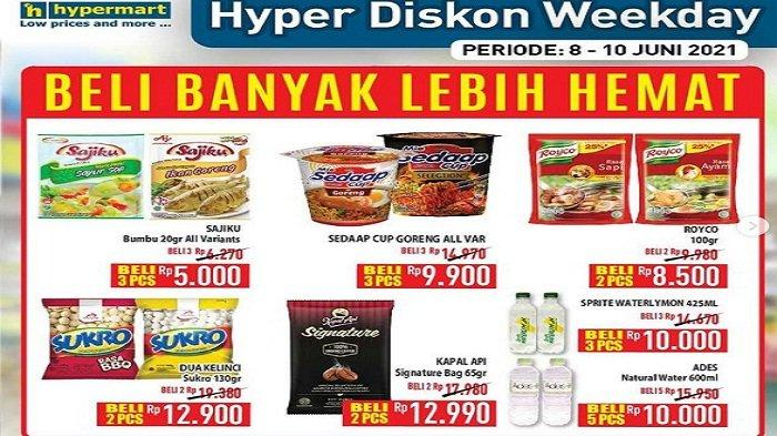 Katalog Promo Hyper Diskon Weekday 8 juni 2021