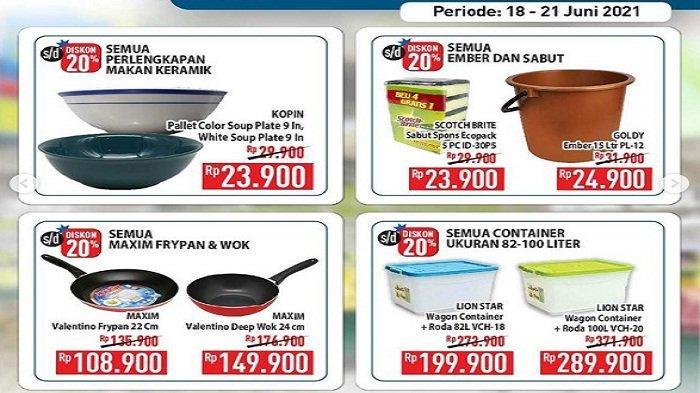 Hypermart Promo Hyper Diskon Weekday Senin 21 Juni : GoodDay Rp25.990 Champ Sosis Ayam 500g Rp17.900