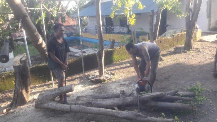 Isu Tsunami, Ratusan Warga Pasir Panjang Kota Kupang Mengungsi ke Bukit, Kaki Terluka Tertusuk Duri