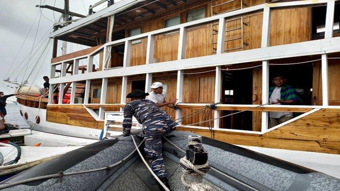 Kebakaran Kapal Pinisi KM Lexxy, Owner Anjani Trip Mohon Maaf