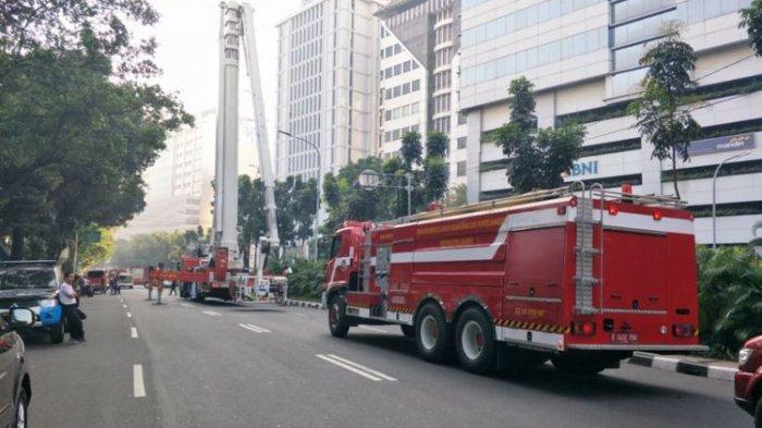 Tiga Orang Tewas Dalam Kebakaran di Kantor Kementerian Perhubungan Pagi Tadi