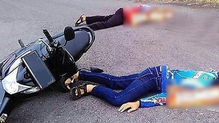 Dump Truk vs Sepeda Motor di Bundaran Tirosa, Warga Kota Kupang Tewas Ditempat