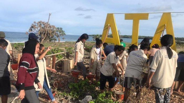 Dukung Sektor Pariwisata, Politeknik Negeri Kupang Gelar Kegiatan Pengabdian di Semau
