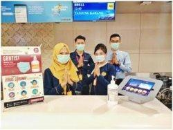 Cegah Virus Corona, TransNusa Disinfeksi Pesawat