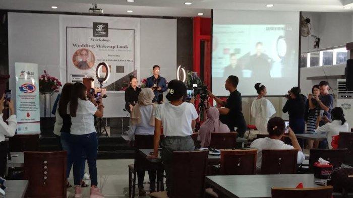 LT Pro dan Dewi Lamabelawa Adakan Workshop Wedding MakeUp Look
