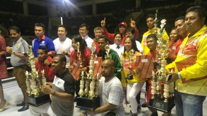 NTT Sabet dua Gelar Juara Umum Kejurnas Tinju Junior dan Youth 2017